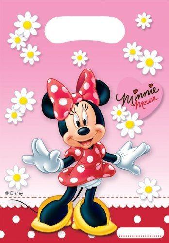 Verrückt nach Minnie - 6 Mitgebsel-Tütchen