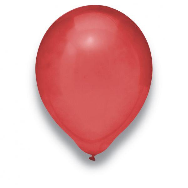 Latexballon Kristall Burgund 100 Stück Ø 30cm