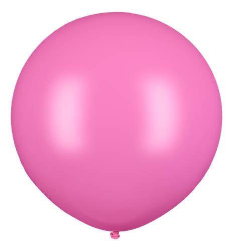 Latexballon Gigant Rosa Ø 80cm