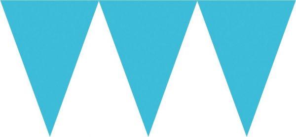 Karibik Blau - Wimpelkette