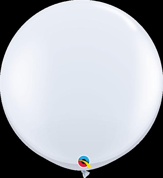 Qualatex Latex-Riesenballon White 90cm