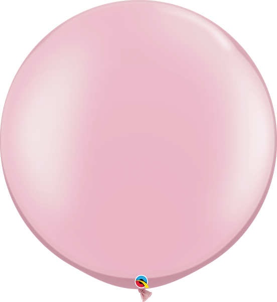 Qualatex Latex-Riesenballon Pearl Pink 75cm