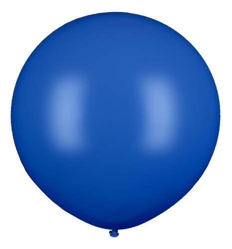 Latexballon Gigant Blau Ø 80cm