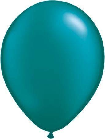 Qualatex Ballon Pearl Petrol 30cm