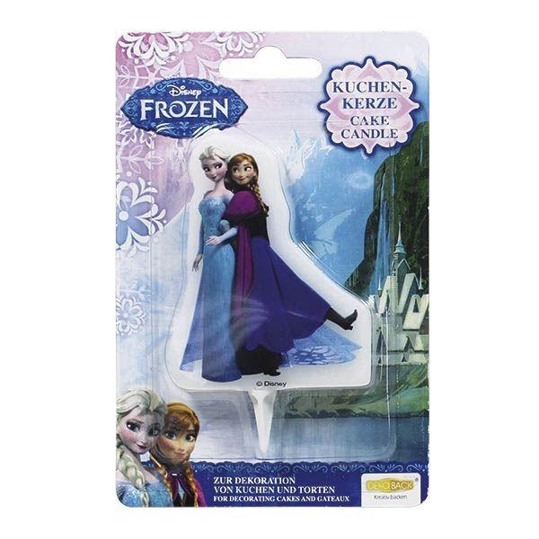 Die Eiskönigin- Kuchenkerze Anna & Elsa