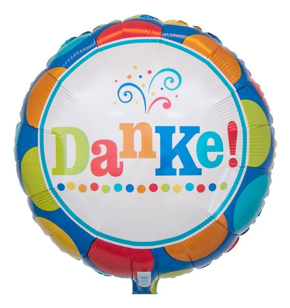 Folienballon Danke 45cm