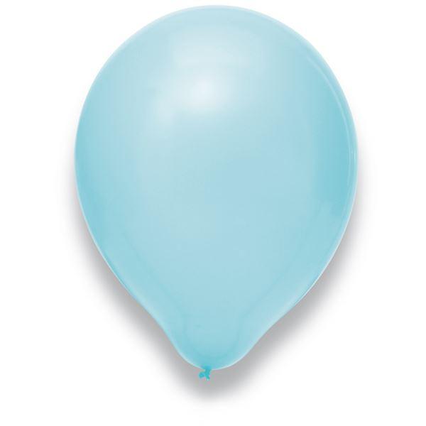 Latexballon Hellblau 50 Stück Ø 30cm