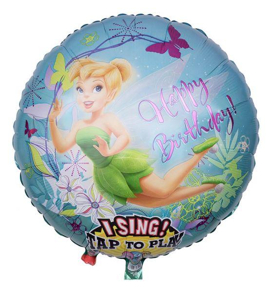 Musikballon Tinker Bell 71cm