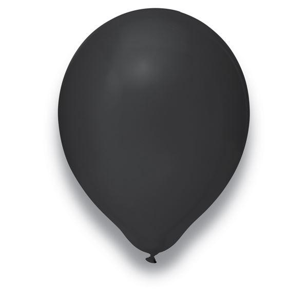 Luftballons Schwarz 30cm 50 Stück