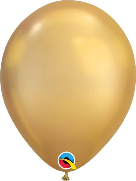 Qualatex Latexballon Chrome Gold Ø 30cm