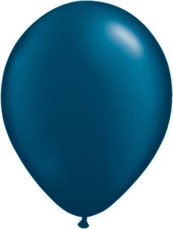 Qualatex Luftballon Pearl Dunkelblau 13cm