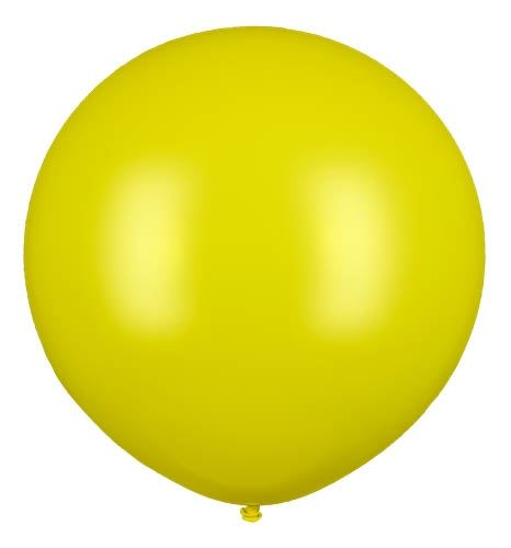 Riesenballon Gelb 210cm