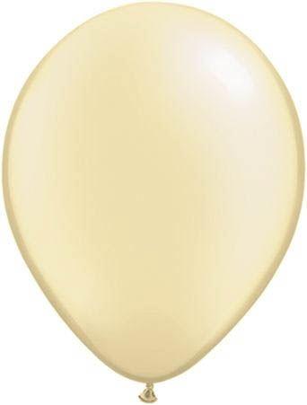 Qualatex Luftballon Pearl Elfenbein 13cm