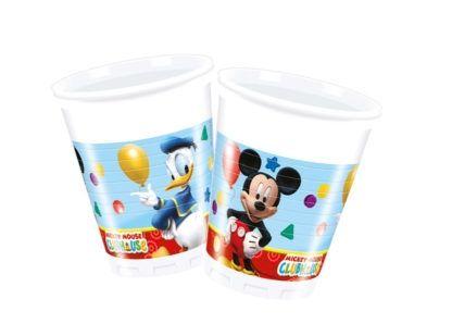 Mickey Mouse - 8 Plastikbecher