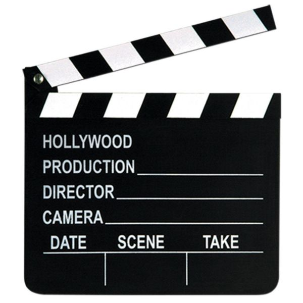 Hollywood - Filmklappe