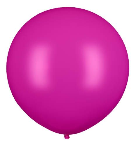 Latexballon Gigant Pink Ø 120cm
