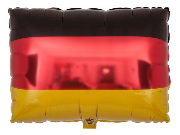 Folienballon Deutschland-Fahne 45 cm
