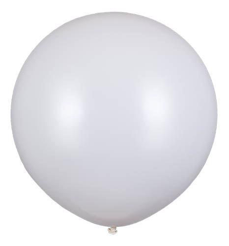 Latexballoon Gigant Weiß Ø 120cm