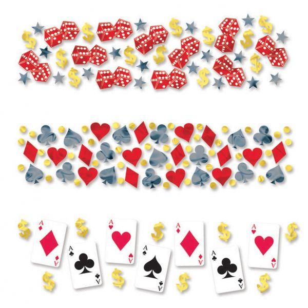 Casino Party - Konfetti