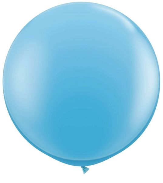 Qualatex Latexballon Gigant Pale Blue Ø 90cm