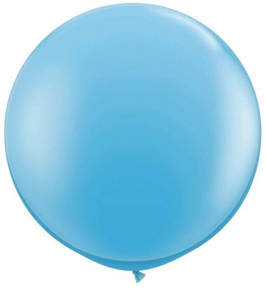 Qualatex Latexballon Gigant Pale Blue Ø 90cm