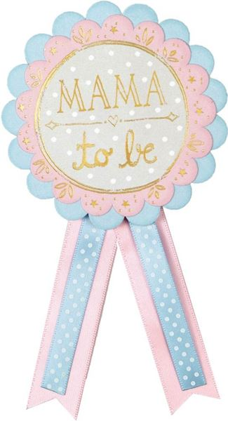 Rosette Baby Shower Mama to be