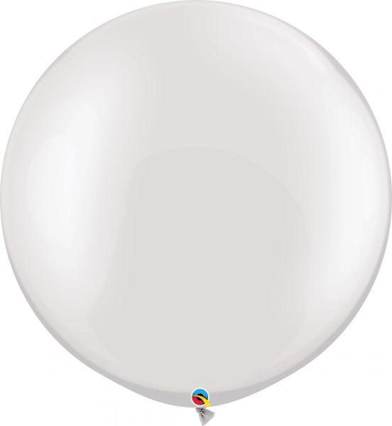 Qualatex Latexballon Gigant Pearl White Ø 75cm