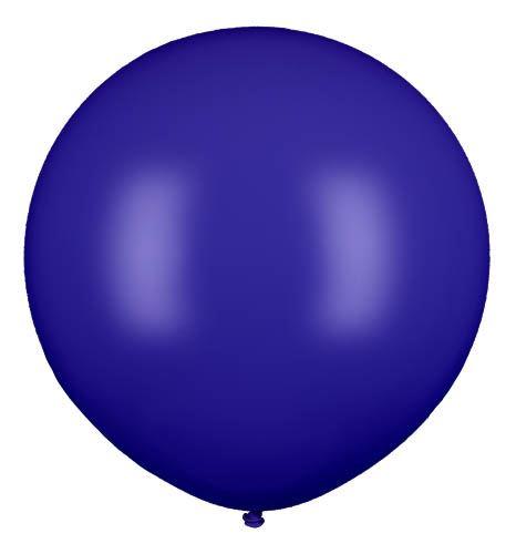 Riesenballon Dunkelblau 80cm