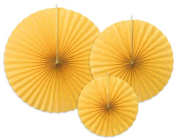 3 Dekofächer - Gelb