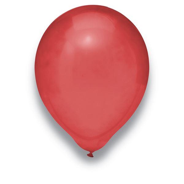 Luftballons Kristall Burgund 30cm 50 Stück