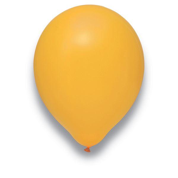 Latexballon Mandarine 50 Stück Ø 30cxm