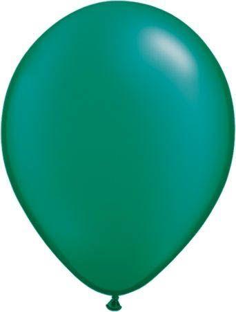 Qualatex Latexballon Pearl Emerald Green 13cm