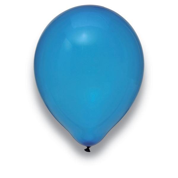 Luftballons Kristall Dunkelblau 30cm 50 Stück