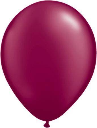 Qualatex Luftballon Pearl Bordeaux 13cm