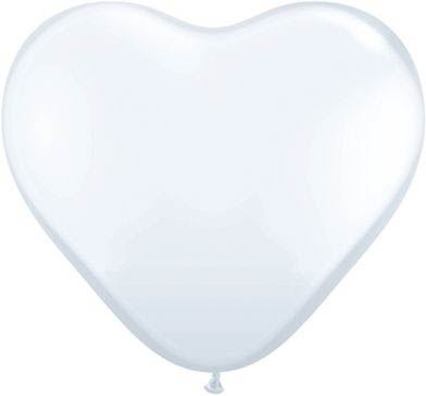 Latexballon Herrz White Pastel Ø 45cm