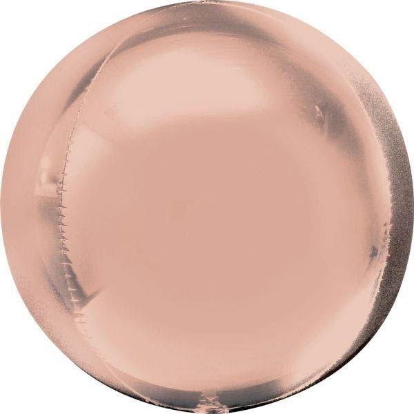 Orbz Ballon Rosé Gold 40cm