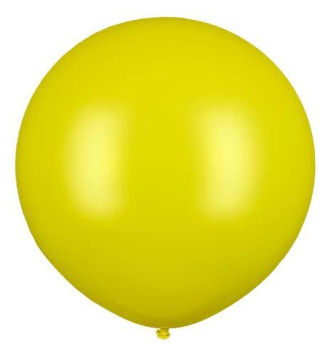 Riesenballon Gelb 80cm