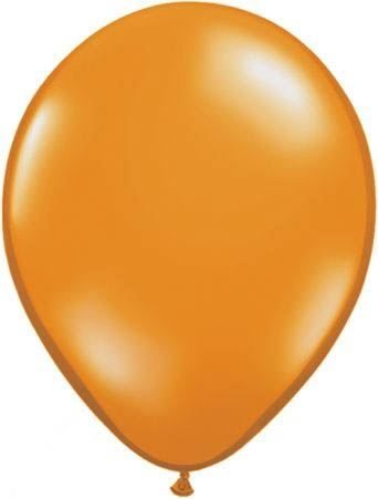 Qualatex Luftballon Mandarine 13cm