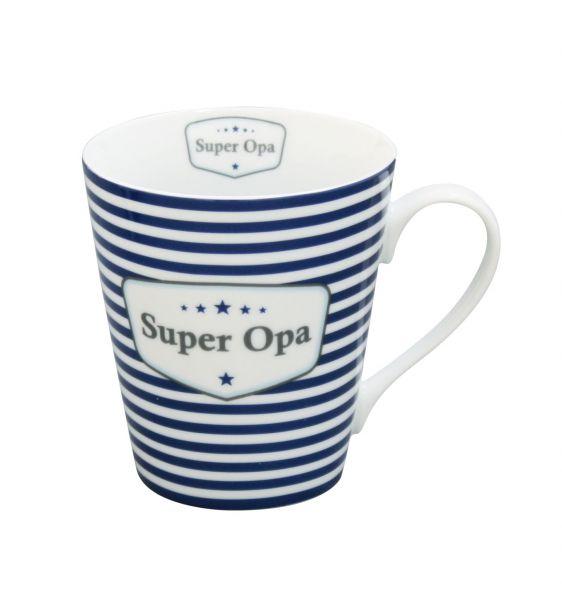 """Kaffeetasse mit Henkel """"Super Opa"""""""