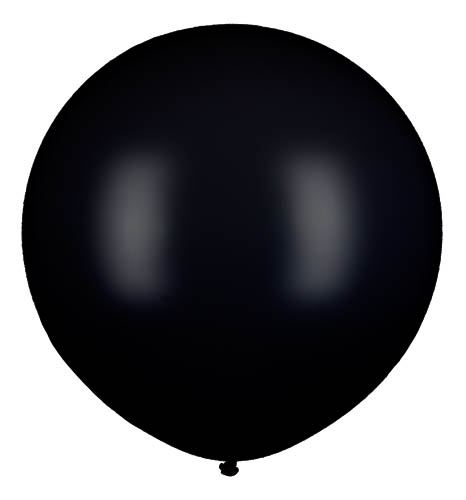 Latexballon Gigant Schwarz Ø 80cm