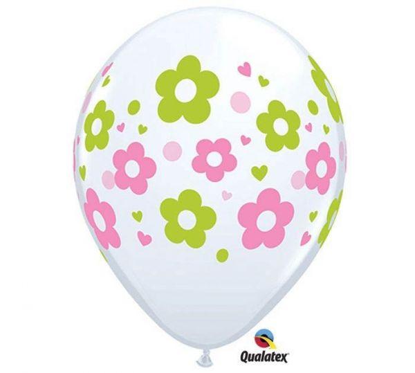 Qualatex Latexballon Blumen Ø 30cm