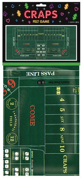 Casino Party - Roulette Filztischdecke