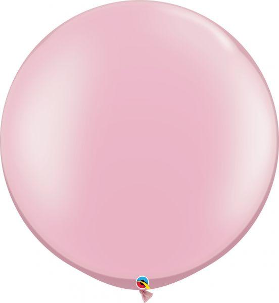 Qualatex Latexballon Gigant Pearl Pink Ø 75cm