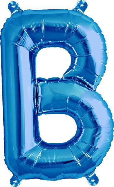 Luftballon Buchstabe B Blau 40cm