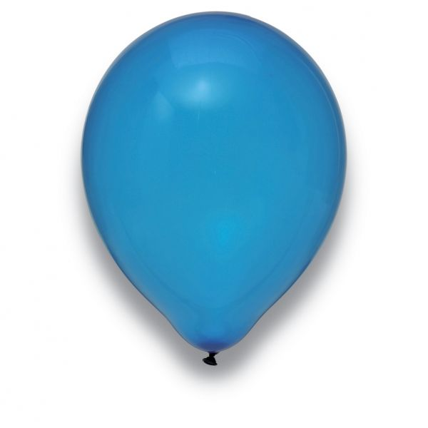 Latexballon Kristall Dunkelblau 50 Stück Ø 30cm