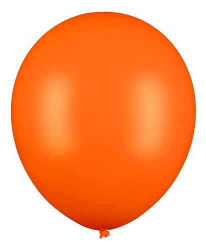 Latexballon Gigant Orange Ø 60cm