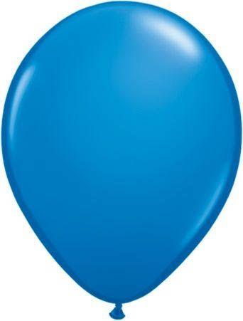 Qualatex Latexballon Dark Blue 13cm