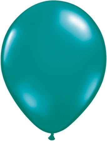 Qualatex Luftballon Petrol 13cm
