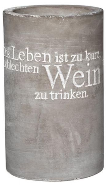 """Räder Design - Weinkühler """"Das Leben ist...."""""""