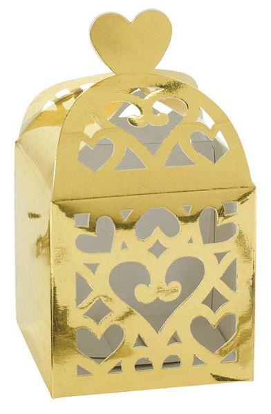 Colourful Wedding Gold - Geschenkboxen